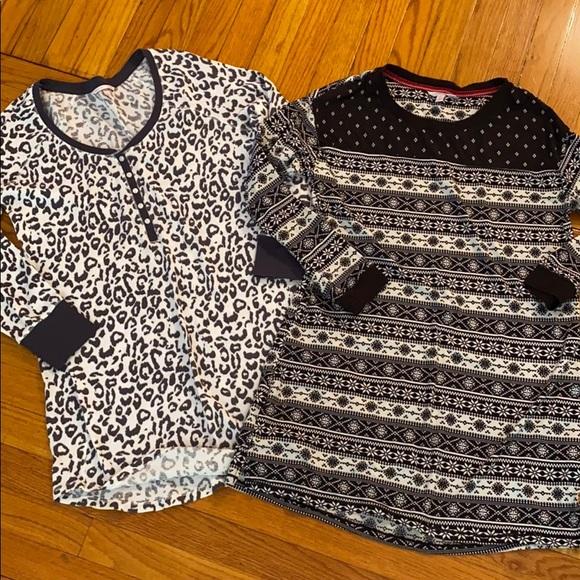 Bundle of two size small sleep dress/shirt small